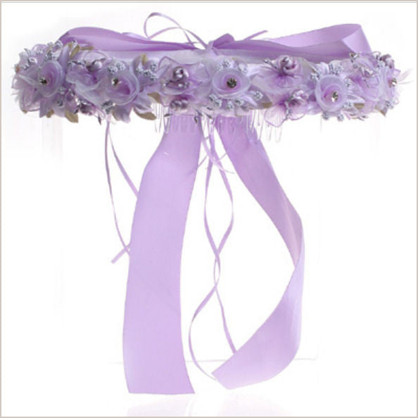 Lilac Floral Crown