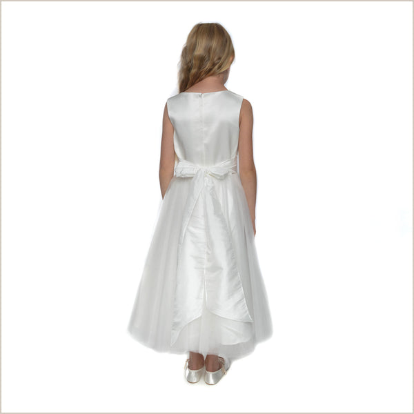 Evie Ivory Flower Girl Dress (Plus sizes also available)