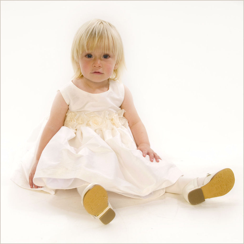 Francesca Flower Girl Dress in Ivory