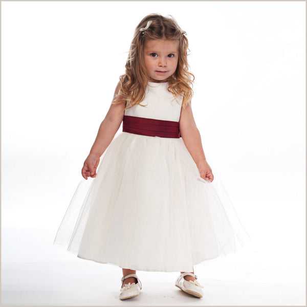 Little Girl Ivory Dress Shoes