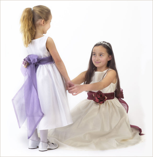 b1aef41df Ivory Flower Girl Dresses for Child Bridesmaids 0-14 years