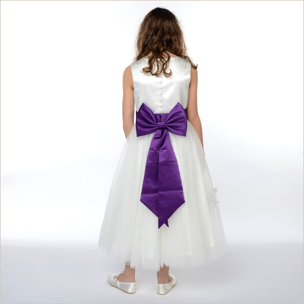 1382f447abcb Pre-Tied Bow or Bows Sashes for bridesmaid and flower girl dresses