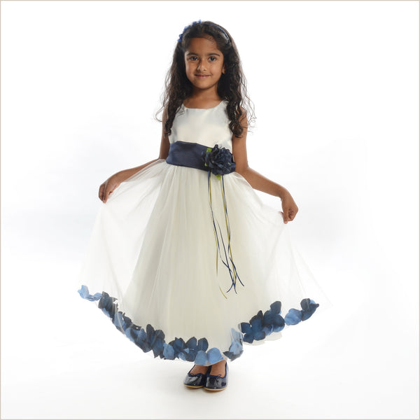 864986059e8a5 Navy And White Flower Girl Dresses Gallery - All Flowers Beautiful