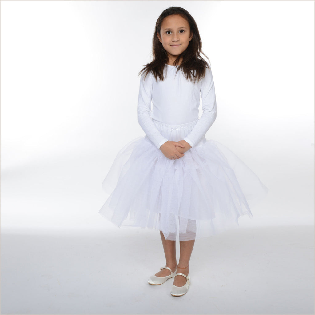 Child's White Net Underskirt Petticoat