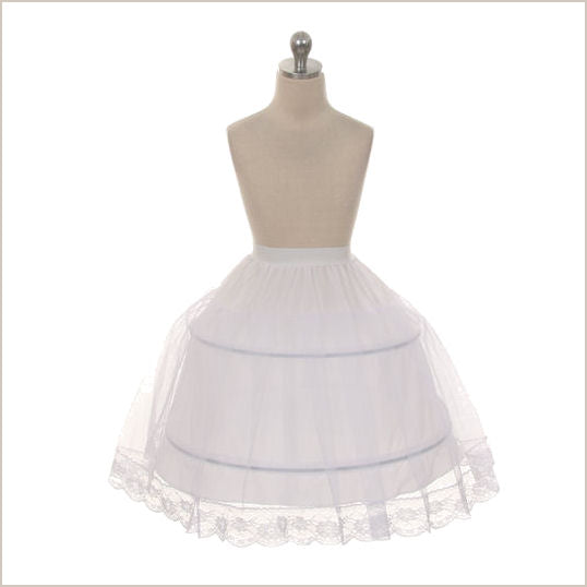 Child's Petticoat with Double Hoop 4
