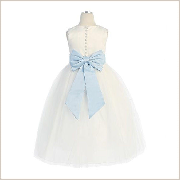 f65c2363a7 Pre-Tied Bow or Bows Sashes for bridesmaid and flower girl dresses