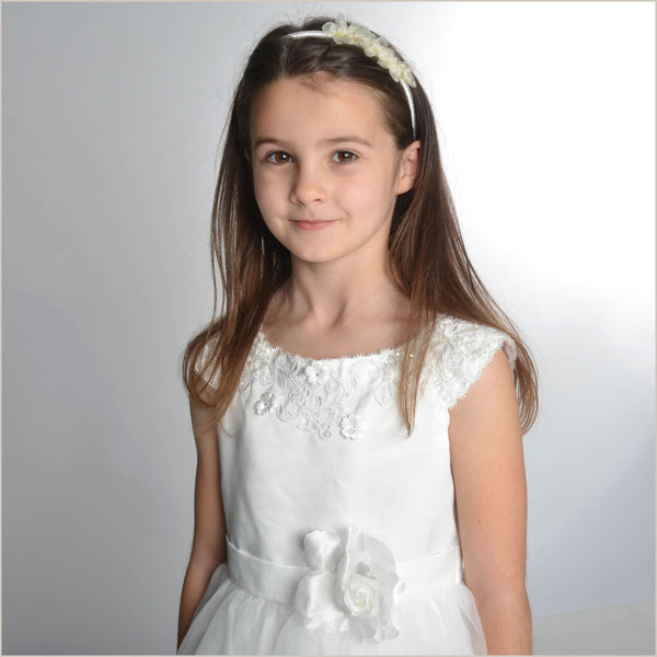 NEW Thalia Flower Girl Dress in Ivory
