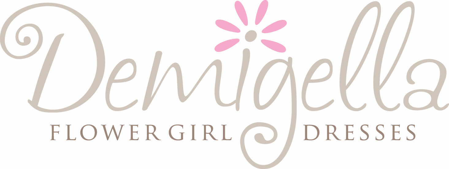 Demigella Flower Girl Dresses For Child Bridesmaids