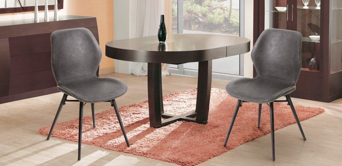 Artos Chita Modern Leather Dining Room Chair set of 2 Feature 1
