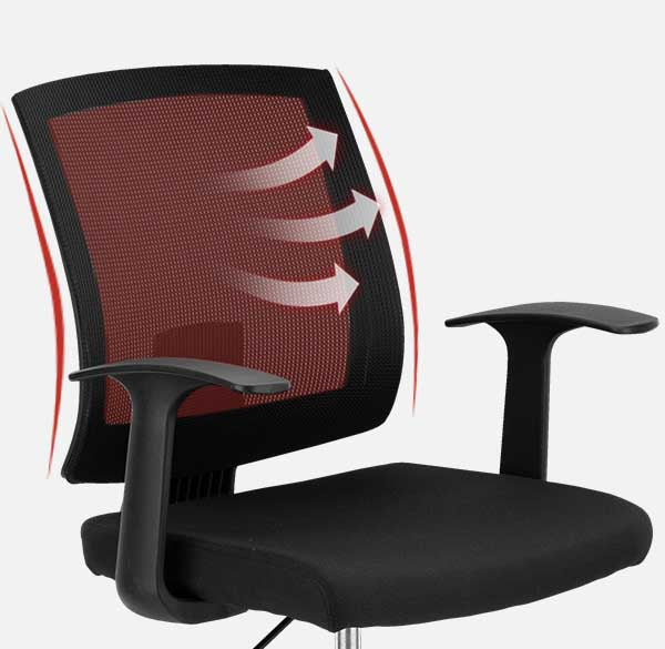 Clatina MARIO Ergonomic Office Desk Chair with Wheels Overview