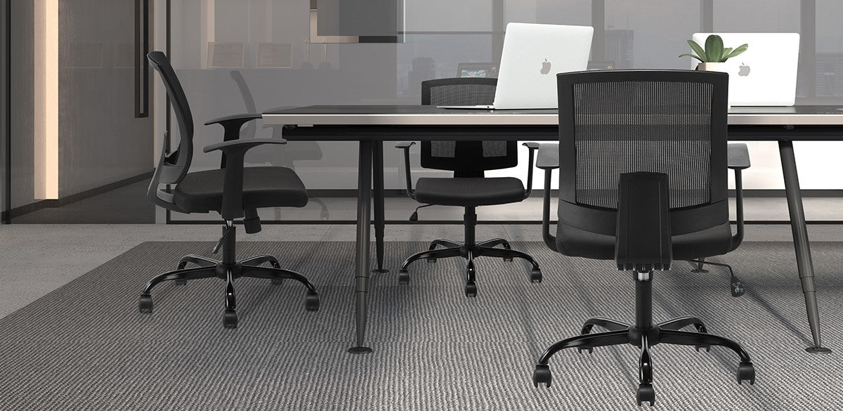 Clatina MARIO Ergonomic Office Desk Chair with Wheels Feature 1