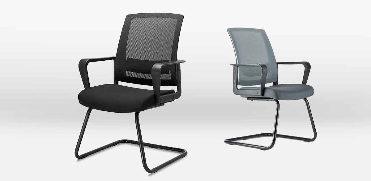 Clatina MERIDA Office Desk Chair with Bow Frame Overview