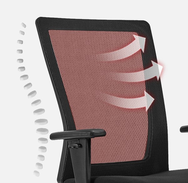 Clatina Miguel Big and Tall Executive Mesh Chair Overview