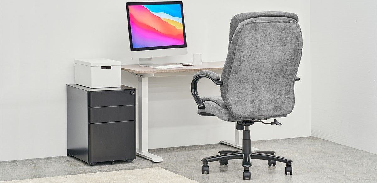 Clatina Palencia Ergonomic Office Big and Tall Executive Chair Feature 1