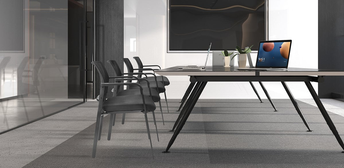Clatina Alba Mesh Back Stacking Chair BIFMA Certificated Feature 1