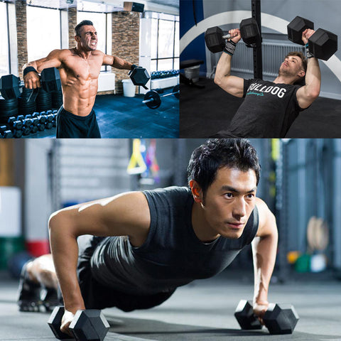 Hex Dumbbell Workout