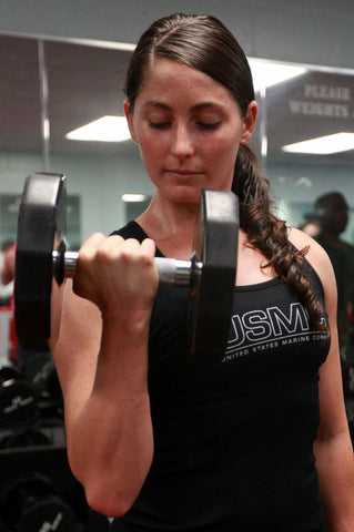 Dumbbell benefits for Ladies