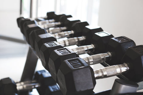 Dumbbells for training