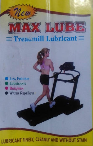Max Lube Treadmill Lubricant Spray 500ml (pack of 02)