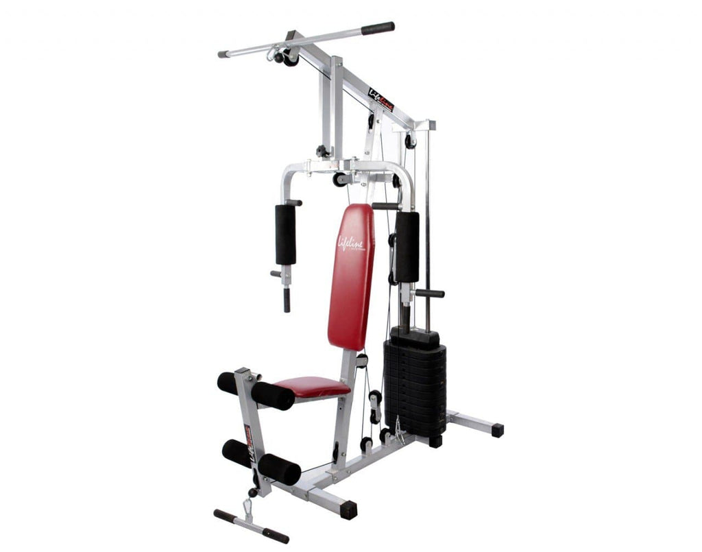 Compact Home Gym - Lifeline Home Gym Set 002 With Bonus 5kg Hexagonal Dumbbell