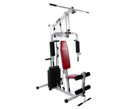 Image of Compact Home Gym - Lifeline Home Gym Set 002 With Bonus 5kg Hexagonal Dumbbell