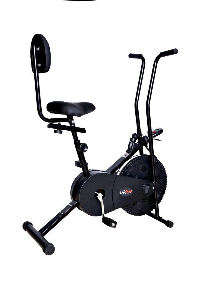 Lifeline Fitness Exercise Cycle 102 With Back Seat
