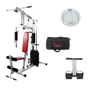 Lifeline Home Gym Equipment 002 For Workout At Home Bundles With Gym Bag, Tummy Trimmer and Weighing Scale || Available on EMI-IMFIT