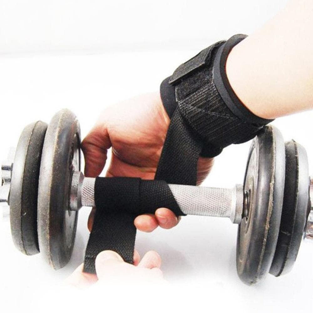Grip's Ankle Weights Cuffs For  Reducing Weight and Developing Muscle (Black) Universal Size