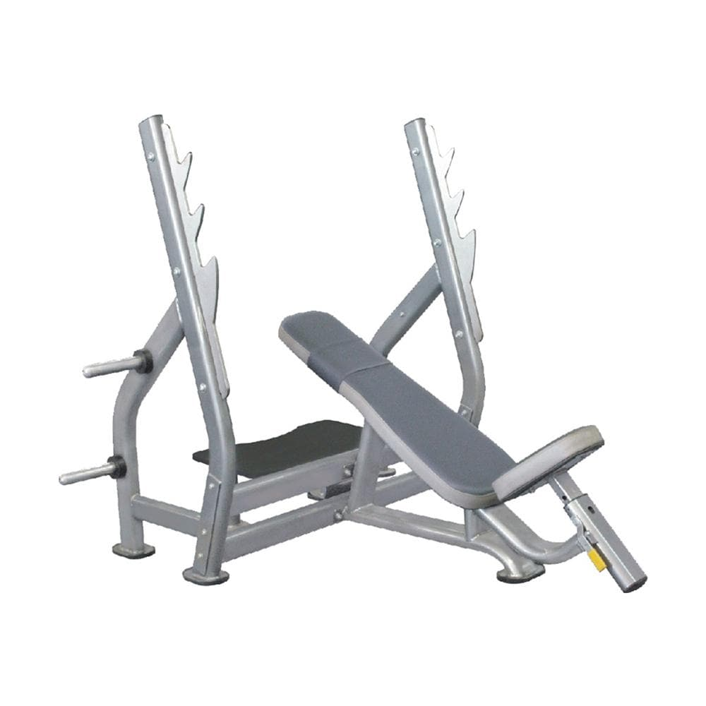 Home Gym Bench Online - Viva Fitness IT7015 Olympic Incline Bench For Exercise