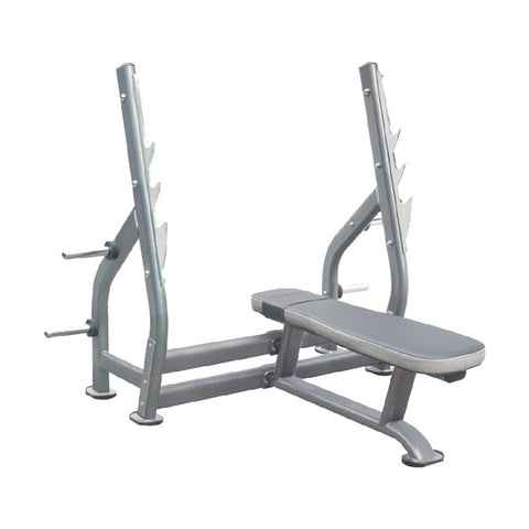 Best Olympic Weight Bench - Viva Fitness IT7014 Olympic Flat Bench For Exercise