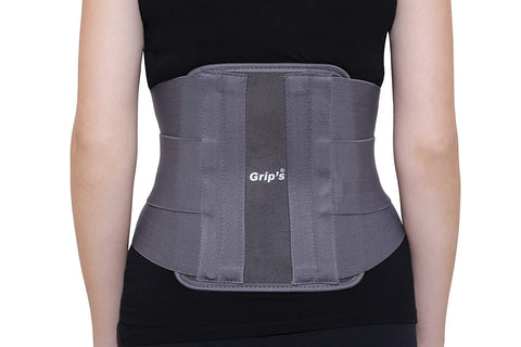 Image of Lumbar Support Corset with Elastic Double Pull from Grip's (E 04) (Large)