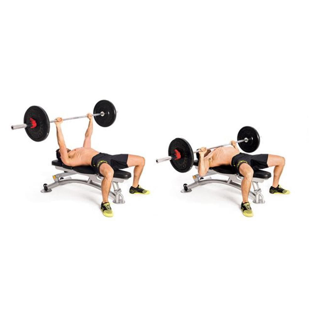 Flat Bench Workout - Viva Fitness HS022 Flat Bench For Exercise
