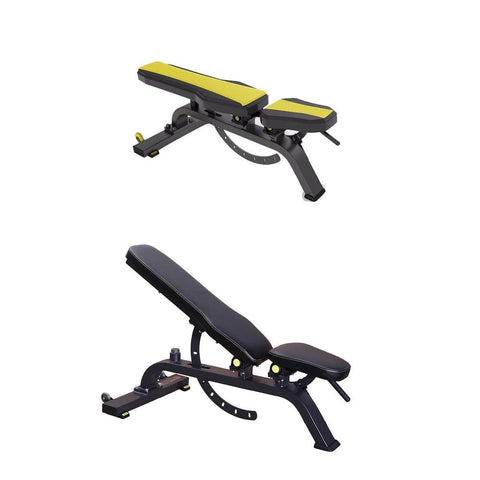 Image of Gym bench for home adjustable - Viva Fitness DFT-639