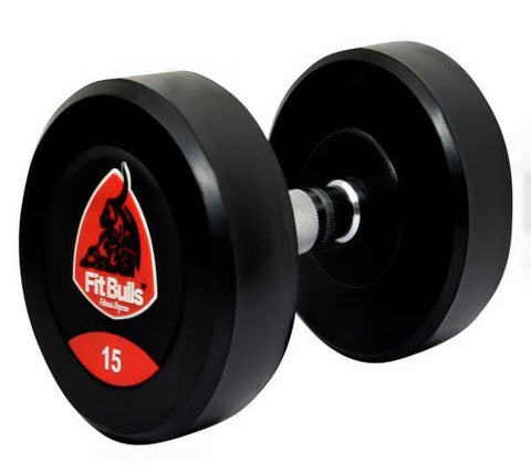 Image of Fitbulls Bouncer Dumbbell With Rubber Coated (Set Of 2)