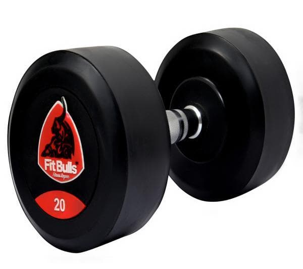 Fitbulls Bouncer Dumbbell With Rubber Coated (Set Of 2)