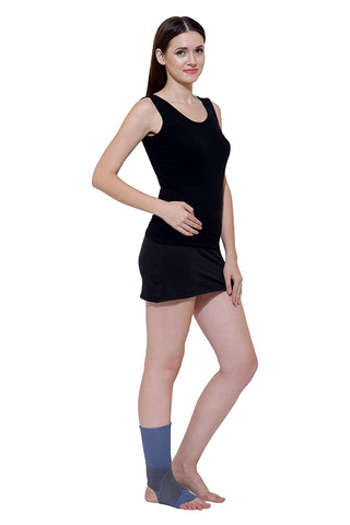 Image of Sleeve Ankle Binder | Soft Ankle Support/Brace/Wrap from Grip's (H 04)