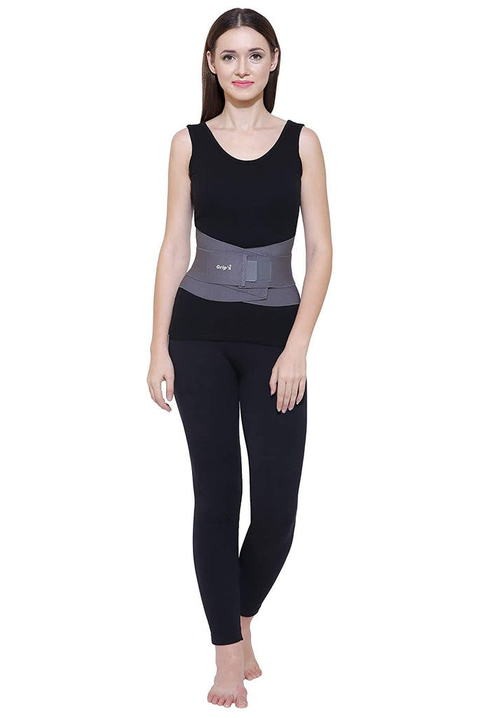 Lumbar Support Corset with Elastic Double Pull from Grip's (E 04) (Large)