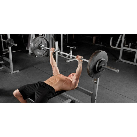 Board Presses For Raw Bench - Viva Fitness E3043 Olympic Flat Bench For Exercise