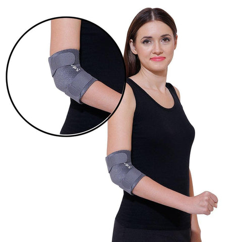 Image of Grip's Elbow Support/Elbow Band For Tennis Elbow pain/gym R 04 (color may vary)