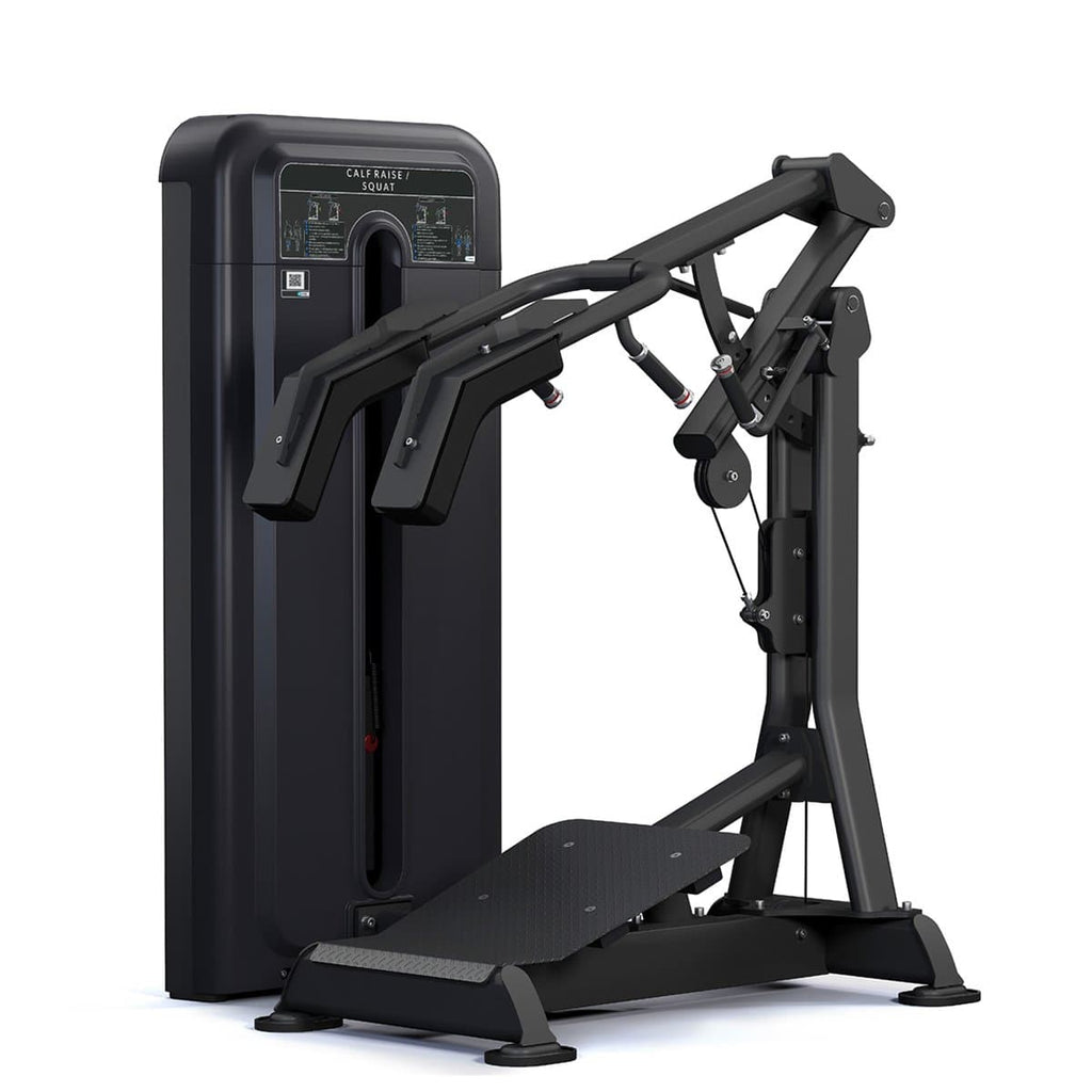 Viva Fitness 525 H COMMERCIAL DEEP SQUAT & STANDING LEG EXTENSION MACHINE 250 LBS
