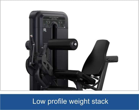 Image of Viva Fitness 555 H COMMERCIAL LEG EXTENSION / CURL MACHINE 290 LBS