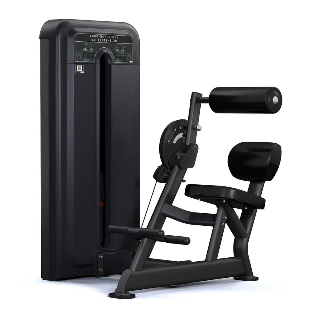 Viva Fitness 595 H COMMERCIAL ABDOMINAL & BACK EXTENSION FITNESS MACHINE 260 LBS