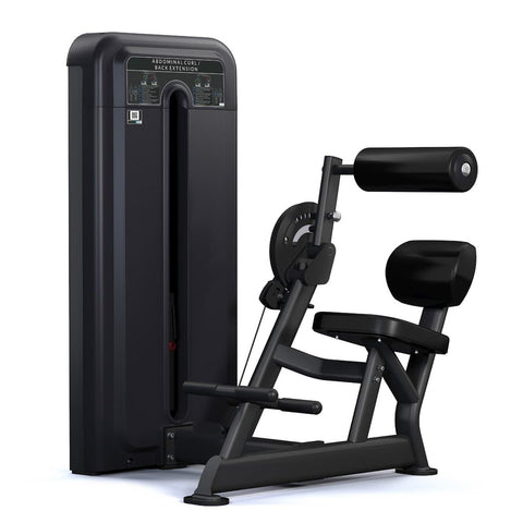 Image of Viva Fitness 595 H COMMERCIAL ABDOMINAL & BACK EXTENSION FITNESS MACHINE 260 LBS