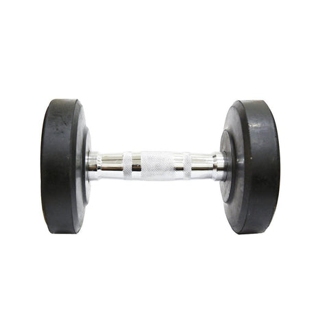 Fit Bull Rubber Coated Professional Round Dumbbells Set-IMFIT