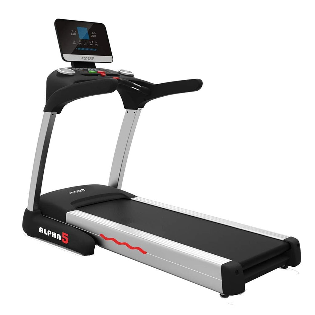 Best Commercial Treadmill For Home Use - Viva Fitness ALPHA 5 3HP AC Semi Commercial Motorized Running Machine