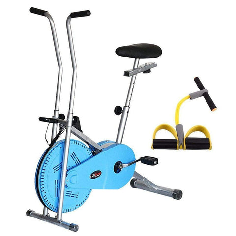 Image of Lifeline Fitness Exercise Cycle 102 (Blue) Weight Loss for Men and Women || Bundles with Pull Reducer Body Trimmer (Multicolor)-IMFIT