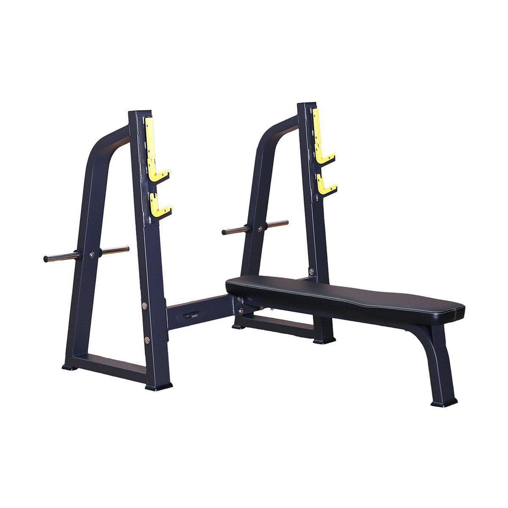 Wondrous Viva Fitness Dft 643 Olympic Flat Bench For Workout Andrewgaddart Wooden Chair Designs For Living Room Andrewgaddartcom