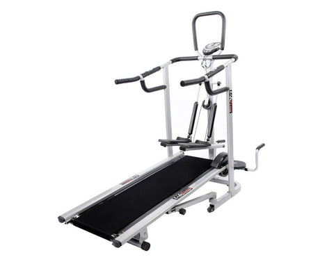 Image of Lifeline 4 In 1 Deluxe Manual Treadmill