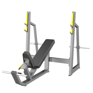 Adjustable Incline Bench - Viva Fitness E3042 Olympic Incline Bench For Exercise