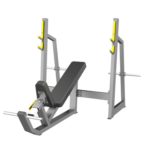 Image of Adjustable Incline Bench - Viva Fitness E3042 Olympic Incline Bench For Exercise